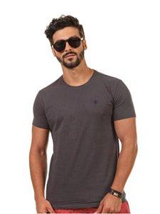 Docthos Camiseta Basic Slim Grafite 623119082