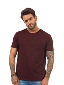 Docthos Camiseta Basic Slim Marsala 623119082