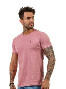 Docthos Camiseta Basic Slim Rose 623119082
