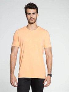 Docthos Camiseta Basic Slim Laranja Candy 623119082