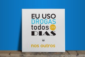 Azulejo DROGAS - Branco