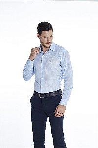 Camisa Casual Lisa Manga Longa 630-20