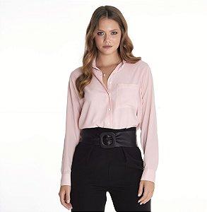 Camisa Feminina Lisa Manga Longa 258-20