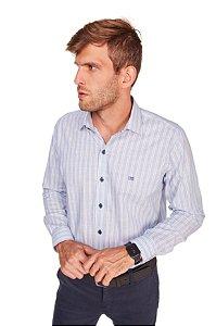 Camisa Casual Listrada M/L 648-20