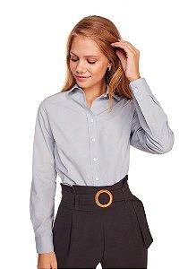 Camisa Feminina Lisa M/L Cinza 3006-U