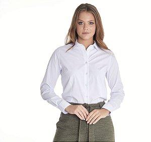 Camisa Feminina Lisa M/L Branca 3016-U