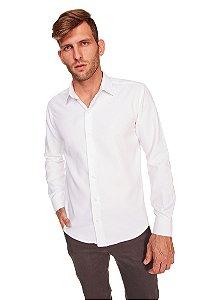 Camisa Slim Executiva M/L Branca 314-20