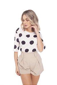 Blusa Chanel M/C 722-21