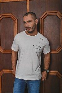 Camiseta Estampada Manga Curta - MLN24042