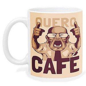 Caneca Meme Quero Café