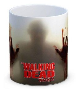Caneca Porcelana The Walking Dead