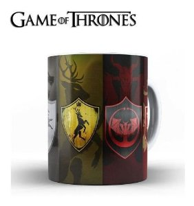 Caneca Porcelana Game Of Thrones.
