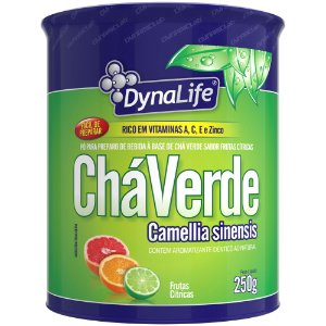 CHÁ VERDE DYNALIFE FRUTAS CÍTRICAS 250g