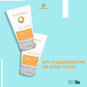 KIT: 2- BLOCSKiN FPS 40 ACNE FACIAL