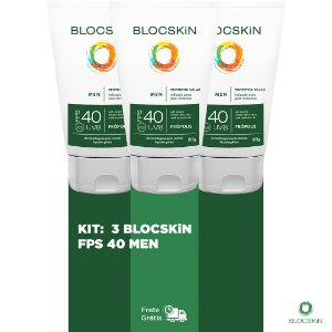 KIT: 3- BLOCSKiN FPS 40 MEN