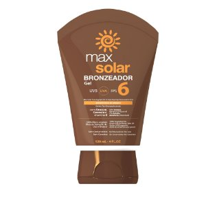 MAX SOLAR GEL BRONZEADOR FPS 6 - 120 mL