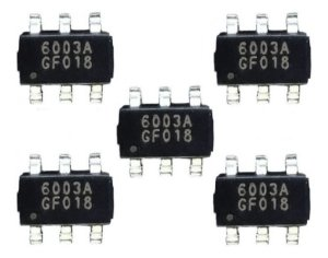 Kit 5 Ci´s 6003a  Pf6003ag  Pf6003a  Pf6003 = Pf6005ag 6005a