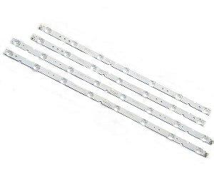 Kit Barra de LED TV TCL Semp Toshiba 55P65US 55P65