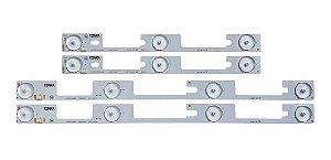 Kit Barra de LED TV Toshiba 32L2400 DL3244 DL3245I DL3253