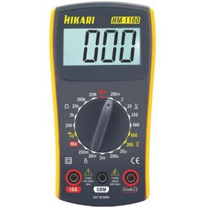 Multimetro Hikari Digital HM-1100 CAT III 600V