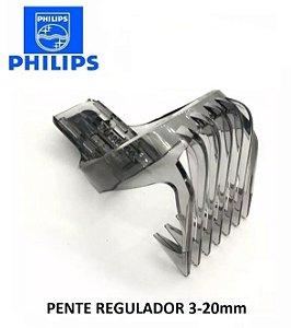 Pente Aparador de Pelos Ajustavel de Corte 32MM 3-20 QG3380/16 Philips/Walita