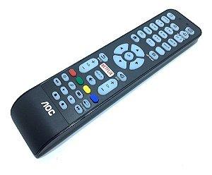 Controle Remoto Aoc Le32s5970/20 (smart Tv/netflix) Novo