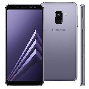 """Smartphone Samsung Galaxy A8 Dual Chip, Android 7.1, Câmera 16MP, Proteção IP68, Processador Octa Core e RAM de 4GB, 64GB, Ametista, Tela 5,6"""""""