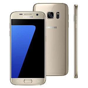 """Smartphone Samsung Galaxy S7 Dourado com 32GB, Tela 5.1"""", Android 6.0, 4G, Câmera 12MP e Processador Octa-Core"""