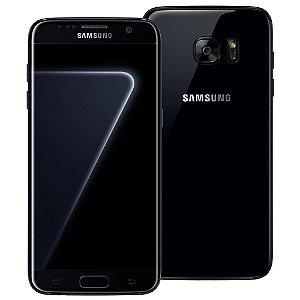 Smartphone Samsung Galaxy S7 edge Black Piano com 128GB, Tela 5.5  Android 7.0, 4G, Câmera 12MP, Processador Octa-Core e 4GB RAM