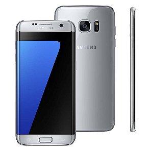 """Smartphone Samsung Galaxy S7 edge Prata com 32GB, Tela 5.5"""", Android 6.0, 4G, Câmera 12MP e Processador Octa-Core"""