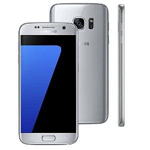 """Smartphone Samsung Galaxy S7 Prata com 32GB, Tela 5.1"""", Android 6.0, 4G, Câmera 12MP e Processador Octa-Core"""