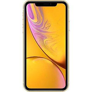 """iPhone XR Apple Amarelo 256GB, Tela Retina LCD de 6,1"""", iOS 12, Câmera Traseira 12MP, Resistente à Água e Reconhecimento Facial"""