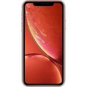 """iPhone XR Apple Coral 256GB, Tela Retina LCD de 6,1"""", iOS 12, Câmera Traseira 12MP, Resistente à Água e Reconhecimento Facial"""