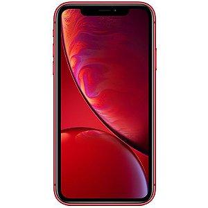 """iPhone XR Apple Vermelho 256GB, Tela Retina LCD de 6,1"""", iOS 12, Câmera Traseira 12MP, Resistente à Água e Reconhecimento Facial"""
