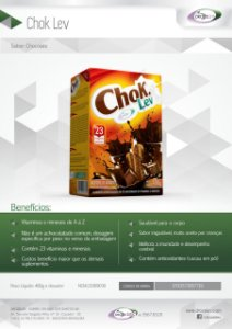 CHOK LEV ACHOCOLATADO DROZELEV - 400G