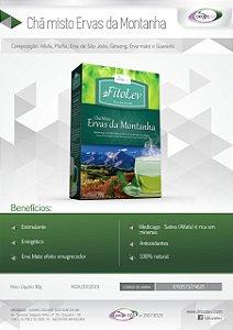 CHÁ MISTO ERVAS DA MONTANHA - DROZELEV - 90 G