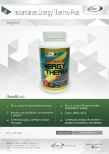 INSTANTÂNEO ENERGY THERMO PLUS DROZELEV - 300 G