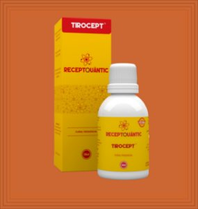 TIROCEPT 50ml - Receptquântic Fisioquântic