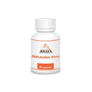 ISOFLAVONA DE SOJA 80mg 30 cápsulas