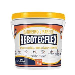 Impermeabilizante Rebotecflex P/ Banheiro E Parede 4 Kg - Rebotec