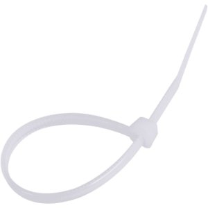Abracadeira Nylon 640X12 Branca Com 10 - Vonder