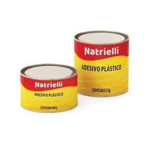 Massa Plastica Cinza 1 Kg - Natrielli
