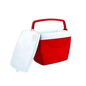 Caixa Termica 6 L Vermelha - Mor