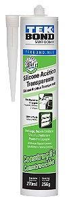 Silicone Acetico 256 G Transp - Tekbond