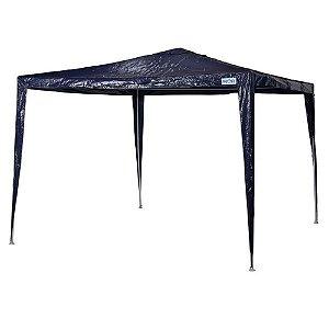 Tenda Gazebo Rafia Azul 3 X 3 M - Mor