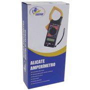 Alicate Amperimetro Digital C/Estojo - Guepar