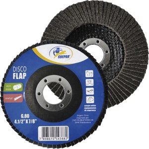 Disco Flap Aco G 80 4.1/2X7/8 - Guepar