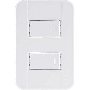 Interruptor 2S Simples 10A/250V Tablet - Tramontina