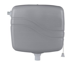 Caixa Desc Plast 6L Cinza - Granplast