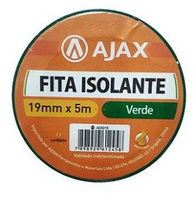 Fita Isolante Verd 19 Mm X 5 M - Ajax